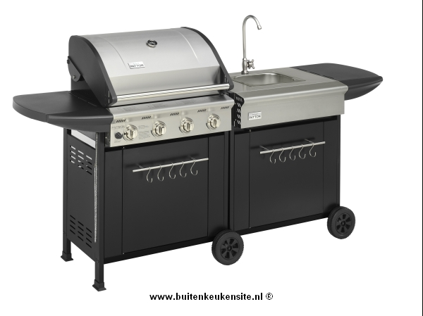 Actie! Patton 4 set burner cart tap was
